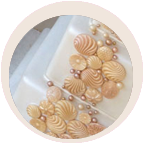 accolade wedding cake shell