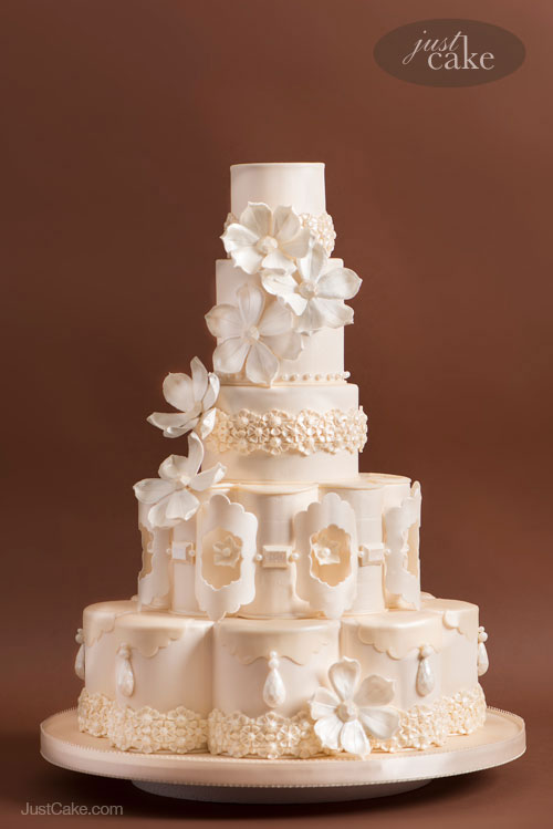 Extraordinary Custom Wedding Cakes Santa Cruz